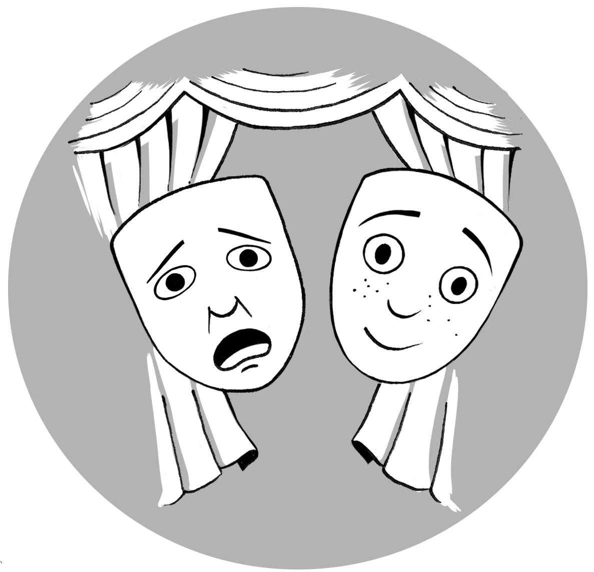 Th tre ados ateliers arc en ciel 12 - Dessin de theatre ...